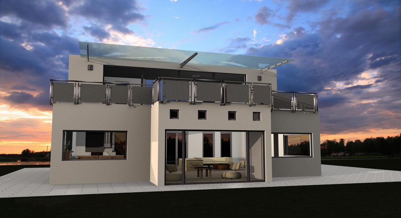 einfamilienhaus selber planen mit der architektursoftware. Black Bedroom Furniture Sets. Home Design Ideas