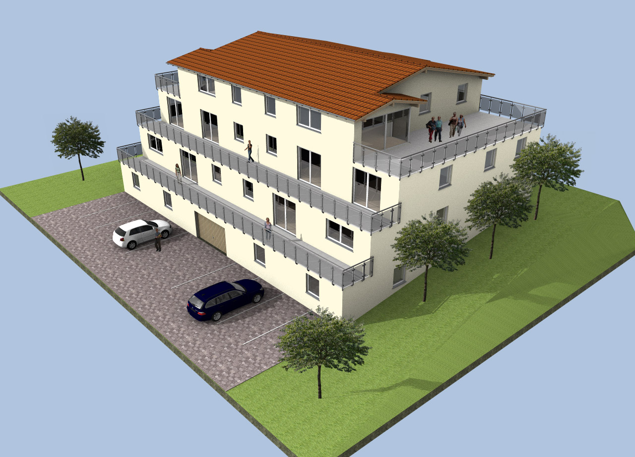 3d hausplaner software zur hausplanung architektursoftware for Haus zeichnen 3d