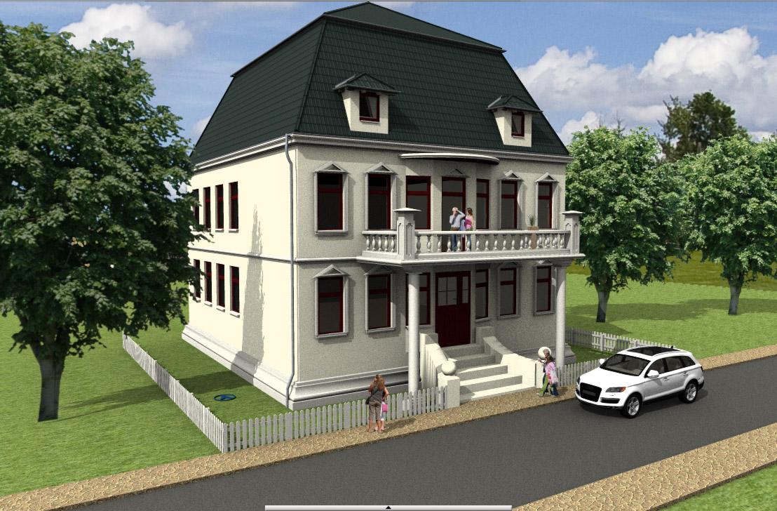 Dachplanung dach selbst planen mit der architektursoftware - Architekt duisburg ...
