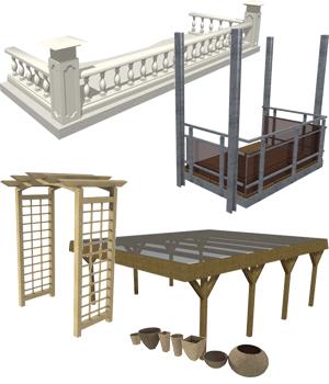 3D constructions