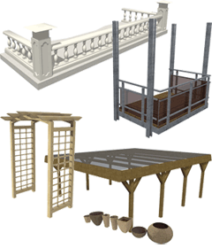 3D Konstruktionen