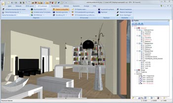 3D Grundriss virtuell durchwandern