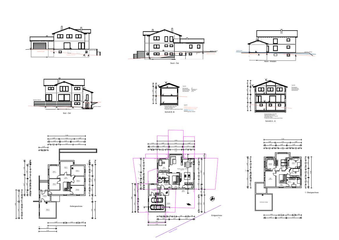 2d Pläne Und 3d Visualisierungen Aus Unserer Architektur Software