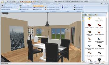 Wohnraumplaner Software Zum Planen Von Grundriss Und Einrichtung