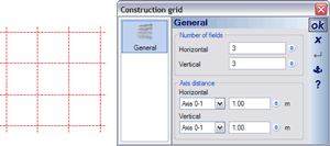 Defining the grid for window construction