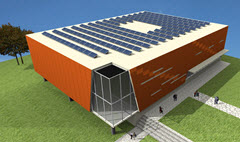 flat-roof photovoltaic systems