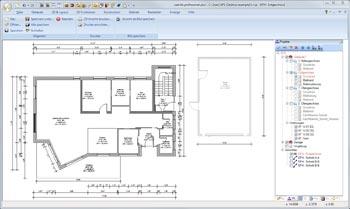 Grundriss mit Bausoftware erfassen