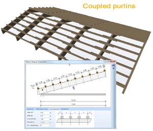 Rozszerzona konstrukcja drewniana do dachów — część 1