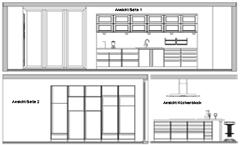 dibujar la habitacin mediante el confortable asistente de diseo de espacios en pocos pasos se resuelve la entrada del cuarto de la cocina con sus paredes