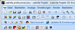 Toolbar user interface