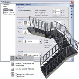 Treppenplaner Software Treppe In 3d Planen