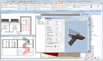 Treppenplaner in 2D & 3D