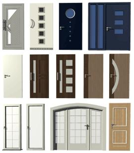 Drzwi wejściowe, drzwi patio, drzwi wewnętrzne, podwójne drzwi