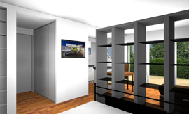 3d wohnungsplaner zur wohnraumplanung architektur software. Black Bedroom Furniture Sets. Home Design Ideas